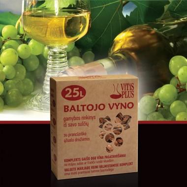 Baltojo vyno gamybos rinkinys