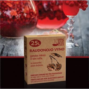 Vyno gamybos rinkinys raudonoms uogoms